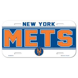 License Plate - New York Mets