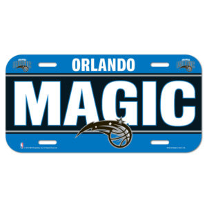License Plate - Orlando Magic