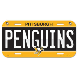 License Plate - Pittsburgh Penguins