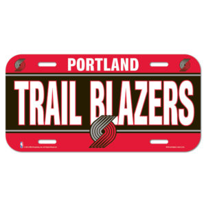 License Plate - Portland Trail Blazers