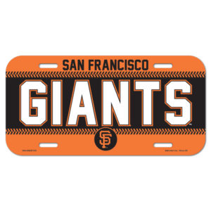 License Plate - San Francisco Giants