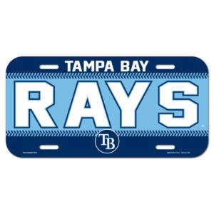 License Plate - Tampa Bay Rays