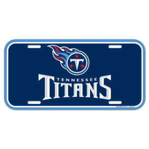 License Plate - Tennessee Titans