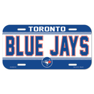 License Plate - Toronto Blue Jays