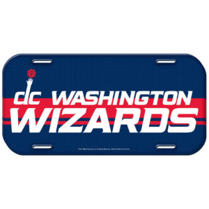 License Plate - Washington Wizards