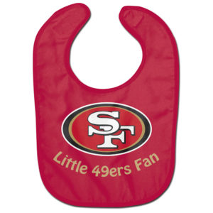 Little Fan Bib - 49ers