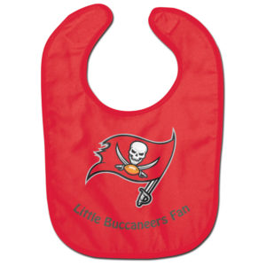 Little Fan Bib - Buccaneers