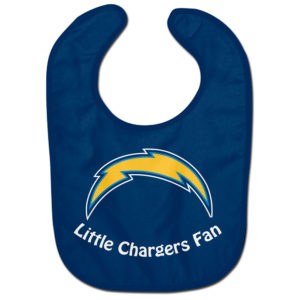 Little Fan Bib - Chargers
