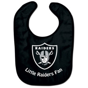 Little Fan Bib - Raiders