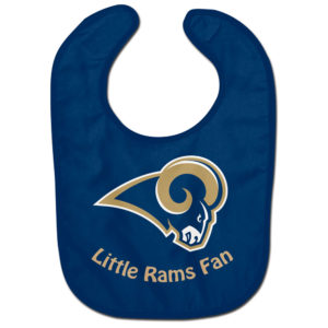 Little Fan Bib - Rams