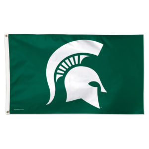 Flag - Deluxe 3'x5' - Michigan State University