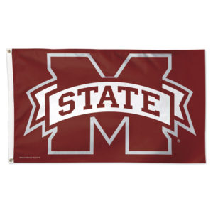 Flag - Deluxe 3'x5' - Mississippi State University