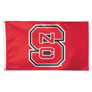 Flag - Deluxe 3'x5' - North Carolina State University