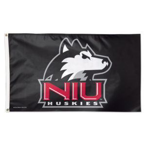 Flag - Deluxe 3'x5' - Northern Illinois