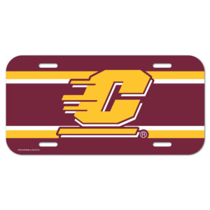 License Plate - Central Michigan University