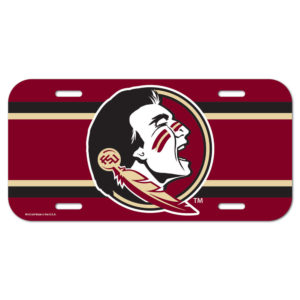 License Plate - Florida State University