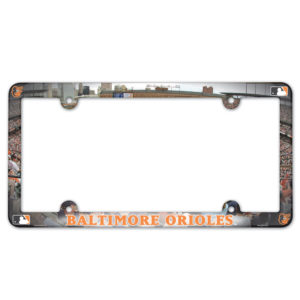 License Plate Frame - Baltimore Orioles