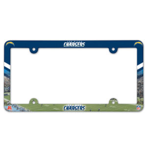 License Plate Frame - Chargers