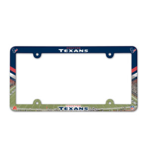 License Plate Frame - Houston Texans