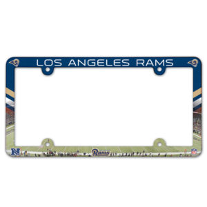 License Plate Frame - Los Angeles Rams
