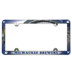 License Plate Frame - Milwaukee Brewers