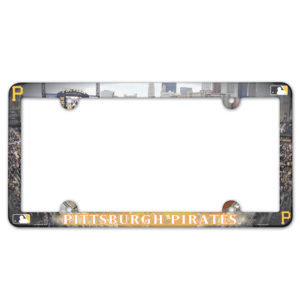 License Plate Frame - Pittsburgh Pirates