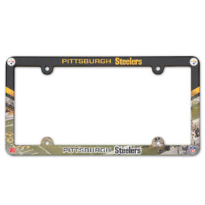 License Plate Frame - Pittsburgh Steelers