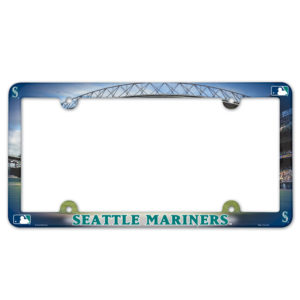 License Plate Frame - Seattle Mariners