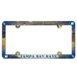License Plate Frame - Tampa Bay Rays