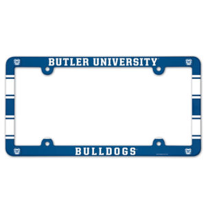 License Plate Frame full color - Butler University