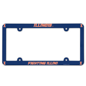 License Plate Frame full color - Illinois