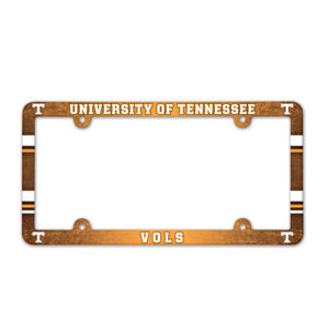 License Plate Frame full color - U of Tennessee
