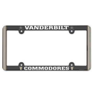 License Plate Frame full color - Vanderbilt