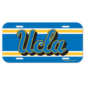 License Plate - UCLA