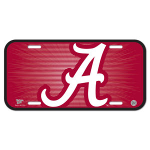 License Plate - University of Alabama