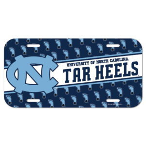 License Plate - University of North Carolina