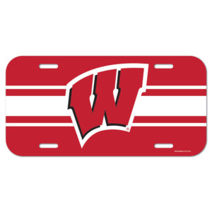 License Plate - University of Wisconsin