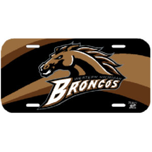License Plate - Western Michigan