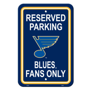Reserved parking - St. Louis Blues