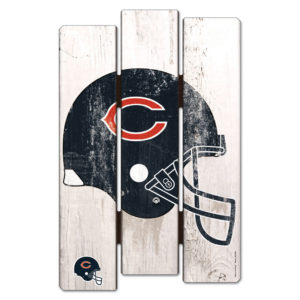 Wood Fence Sign - Chicago Bears
