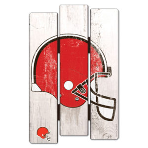 Wood Fence Sign - Cleveland Browns