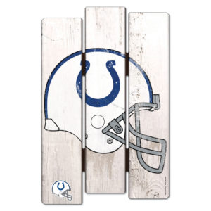 Wood Fence Sign - Indianapolis Colts