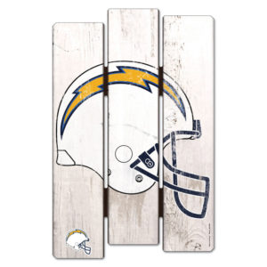 Wood Fence Sign - Los Angeles Chargers