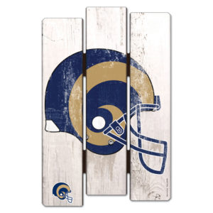 Wood Fence Sign - Los Angeles Rams