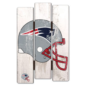 Wood Fence Sign - New England Patriots