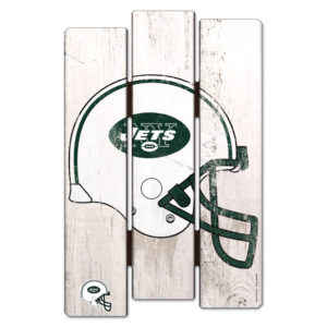 Wood Fence Sign - New York Jets