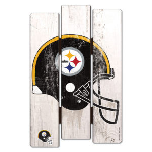 Wood Fence Sign - Pittsburgh Steelers
