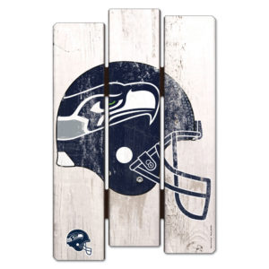 Wood Fence Sign - Seattle Seahawks
