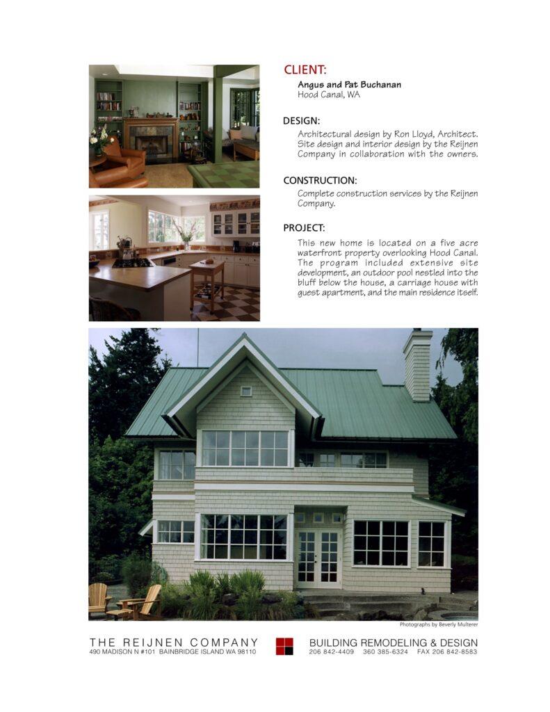 Portfolio Page Buchanan