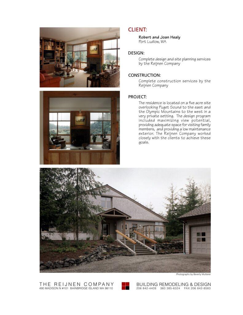 Portfolio Page Healy